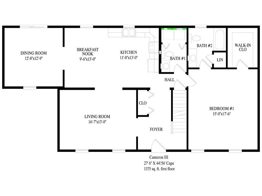 Cameron Iii Northwood Custom Modular Homes